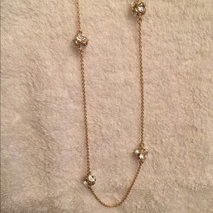 Kate Spade Lady Marmalade Gold Tone Necklace.